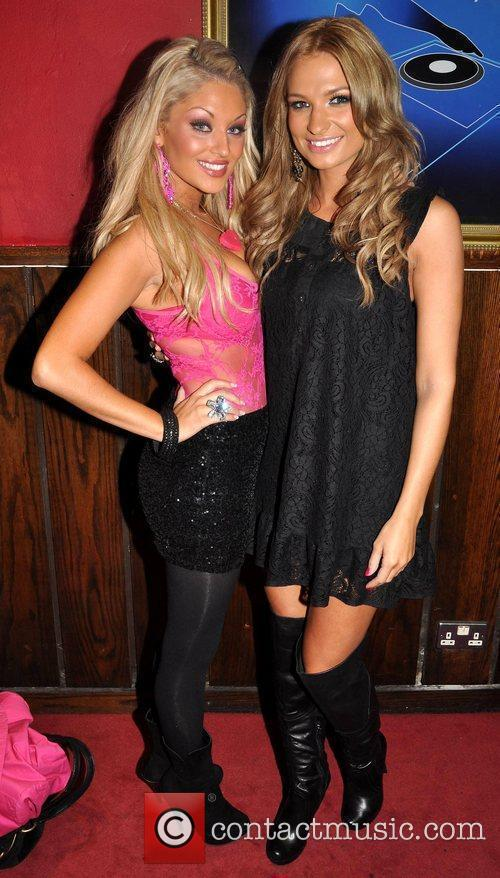 Nicola Lavelle and Sara Kavanagh The Pink &...