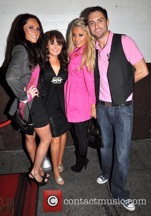 Siobhan Mclennan, Ciara Lambart, Nicola Lavelle and Simon...