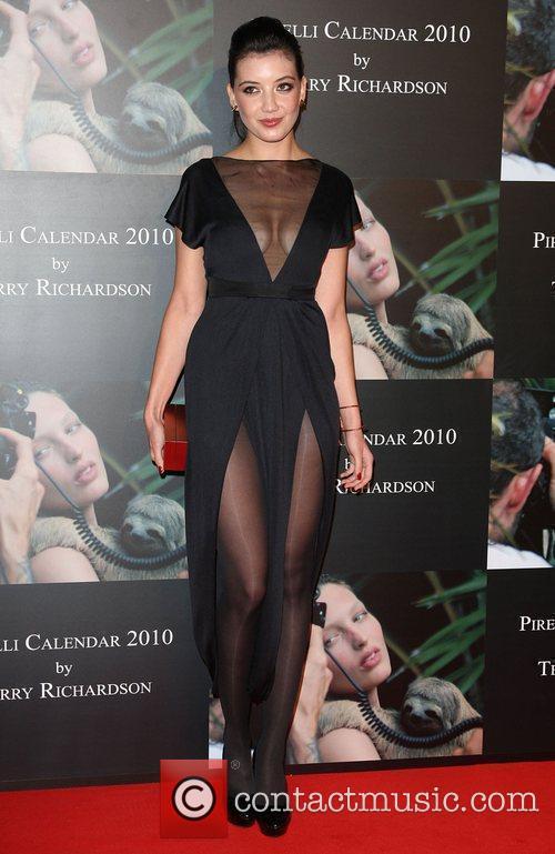 Daisy Lowe Launch of Pirelli calender 2010 gala...