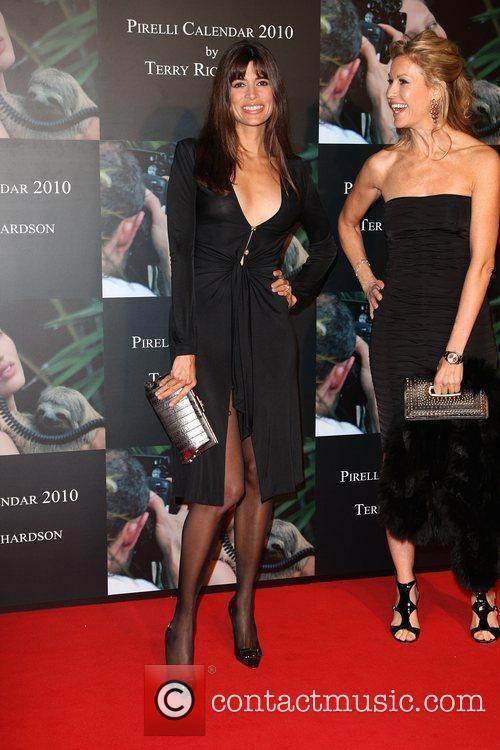 Lisa B Launch of Pirelli calender 2010 gala...
