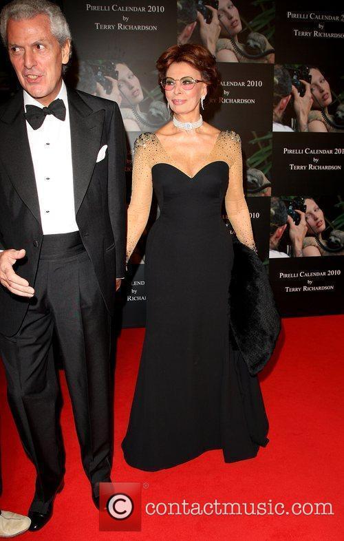 Sophia Loren and Marco Tronchetti Provera  Launch...
