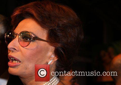 Sophia Loren Launch of Pirelli calender 2010 gala...