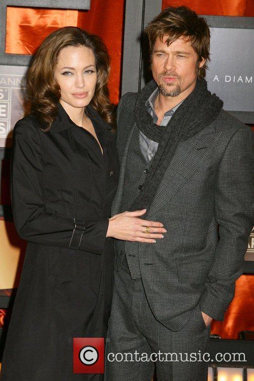 Brad Pitt, Angelina Jolie and Tomb Raider 1