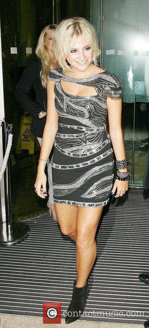 Pixie Lott enjoys a night out in London,...