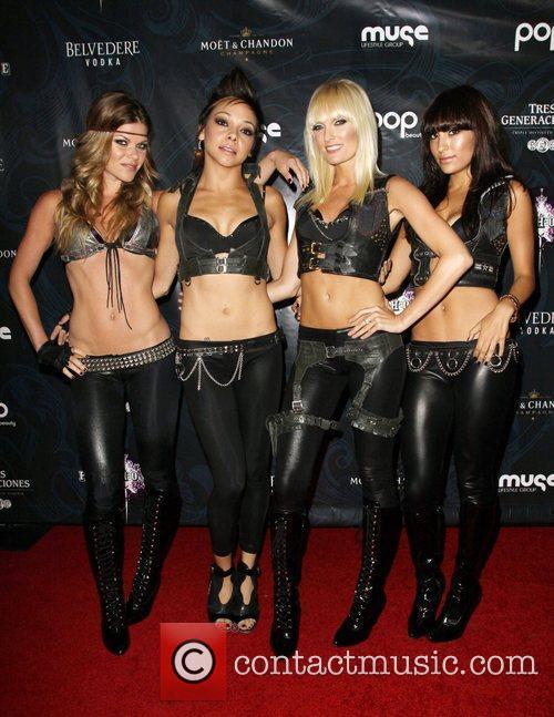 Anya Playhouse Vegas-style Nightclub grand opening - Arrivals...
