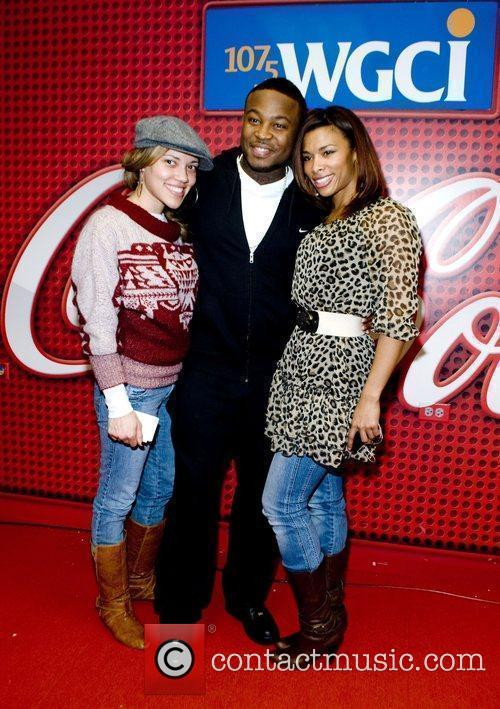 At the WGCI Coca Cola Lounge