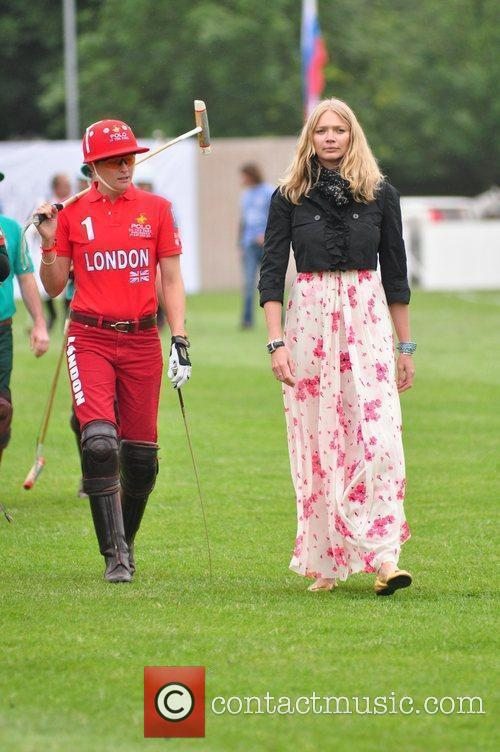 Jodie Kidd Polo In The Park held at...