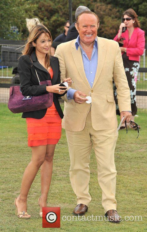 Andrew Neil  Cartier International Polo Tournament held...