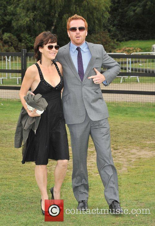 Damian Lewis  Cartier International Polo Tournament held...