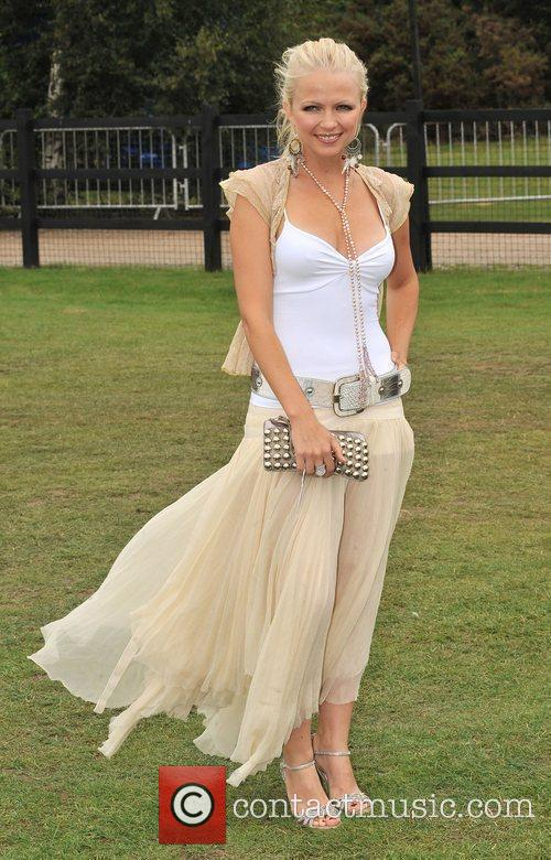 Hannah Sandling Cartier International Polo Tournament held at...