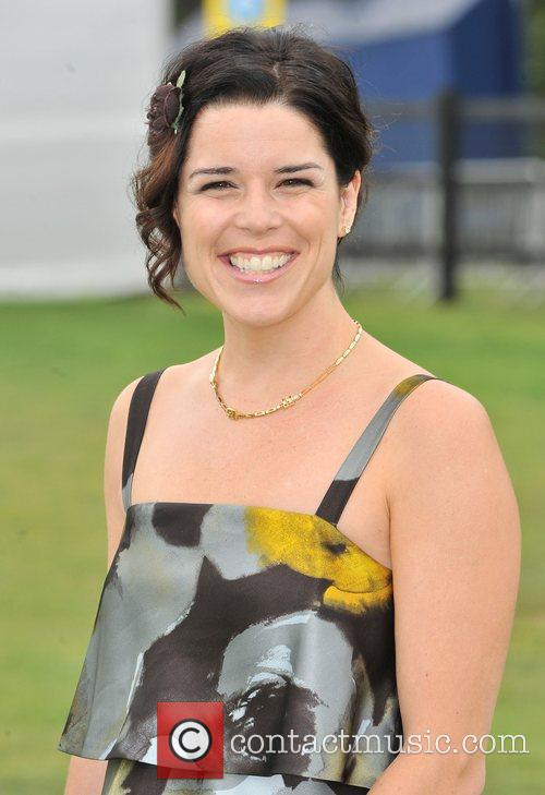 Neve Campbell  Cartier International Polo Tournament held...