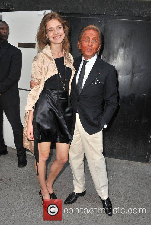 Natalia Vodianova and Valentino Garavani Prada Congo Benefit...