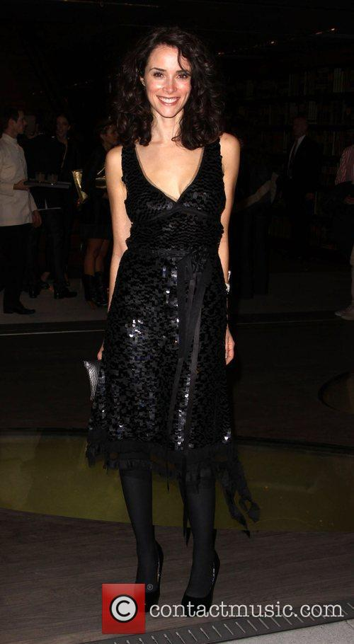 Abigail Spencer Prada book launch cocktail party held...