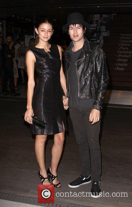 Bobby Alt and Caroline D'Amore Prada book launch...