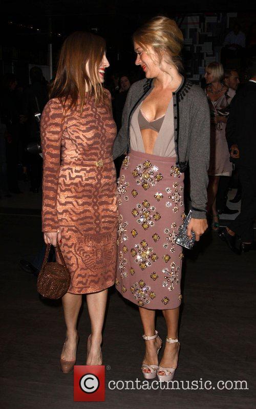 Chloe Sevigny and Liz Goldwyn Prada book launch...