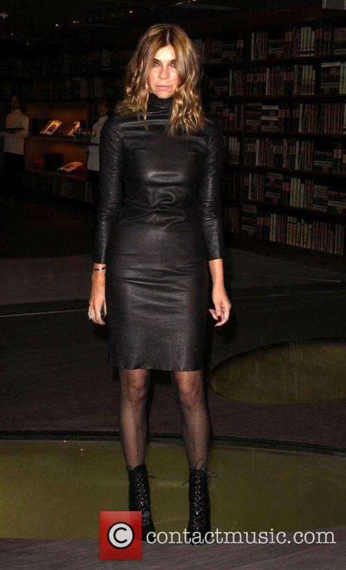 Editor-in-Chief of French Vogue Carine Roitfeld Prada book...