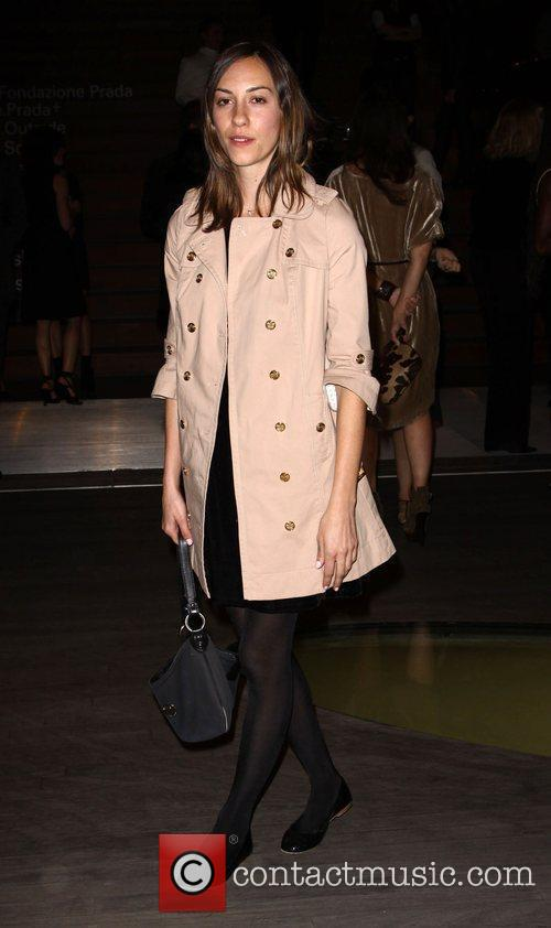 Gia Coppola Prada book launch cocktail party held...