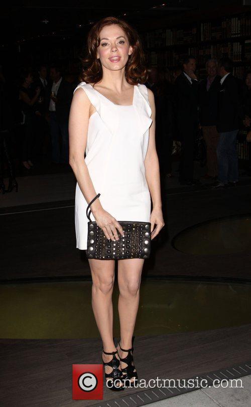 Rose McGowan Prada book launch cocktail party held...