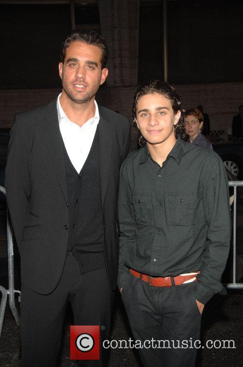 Picture - Bobby Cannavale and his son Jason New York City  USA    Bobby Cannavale Son