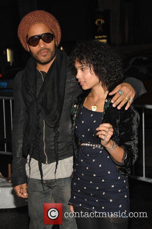 Lenny Kravitz and His Daughter Zoe Kravitz 4