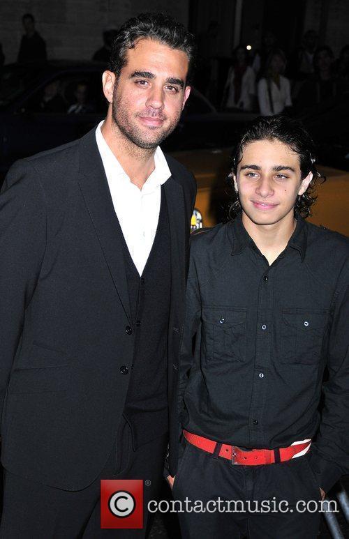Picture - Bobby Cannavale and son Jason New York City  USA  Saturday    Bobby Cannavale Son