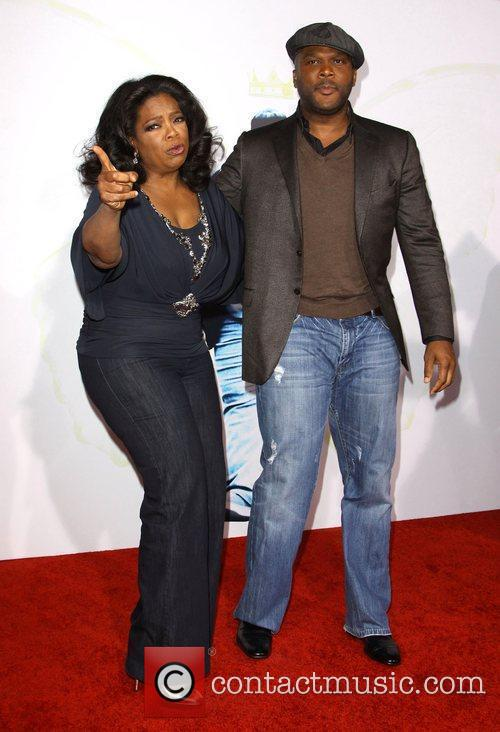 Oprah Winfrey and Tyler Perry 2009 AFI Fest...