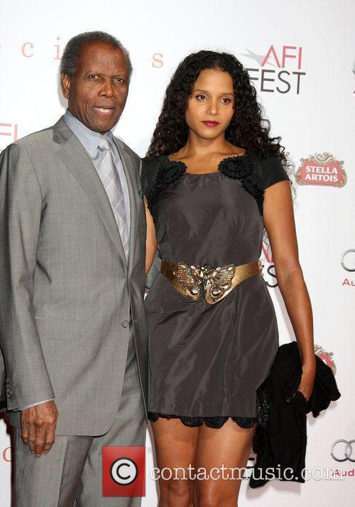 Sidney Poitier and Sydney Poitier 2009 AFI Fest...