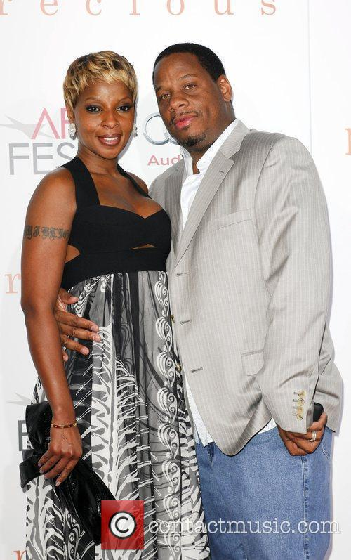 Mary J. Blige and husband 2009 AFI Fest...