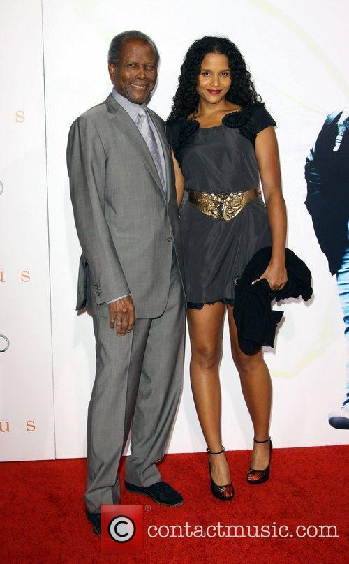 Sidney Poitier and his Daughter Sydney Poitier...