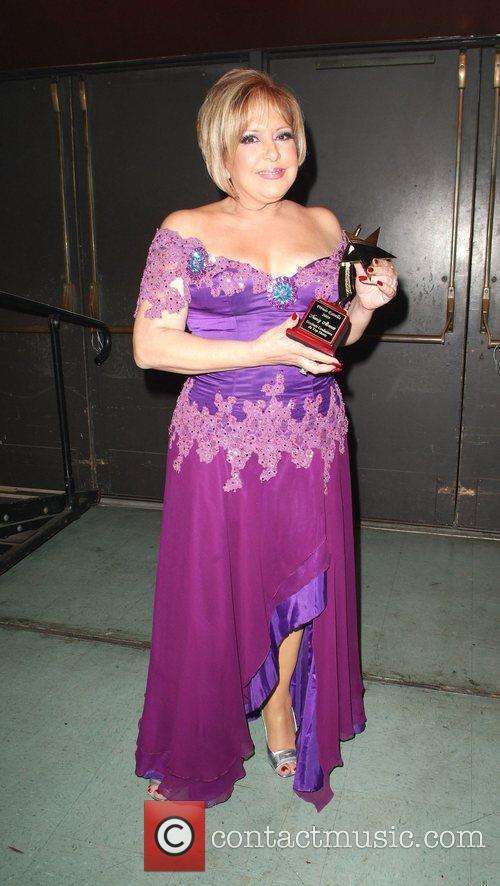 Backstage during Premio Estrella Music award 2009 at...
