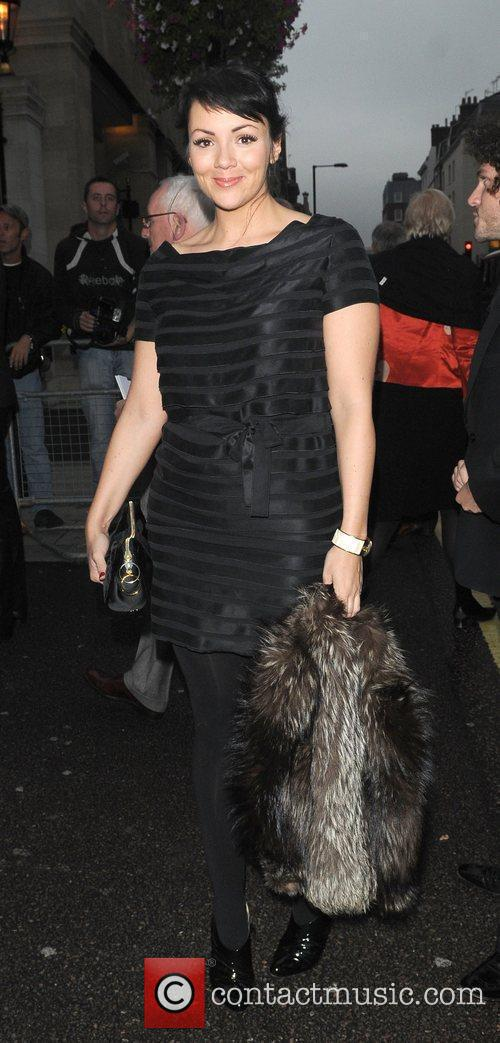 Arriving for Pride of Britain Awards 2009 held...