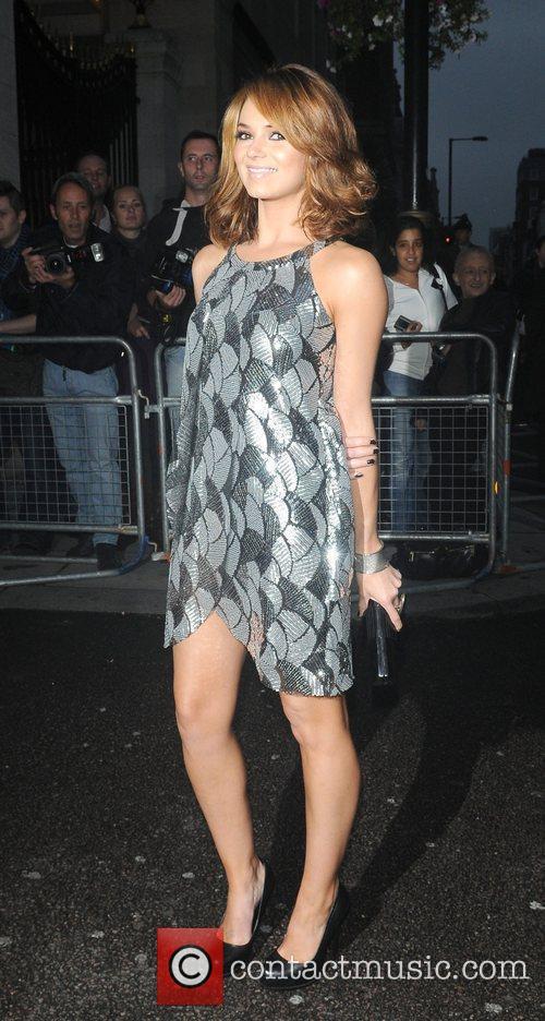 Arriving for Pride of Britain Awards 2009 held...
