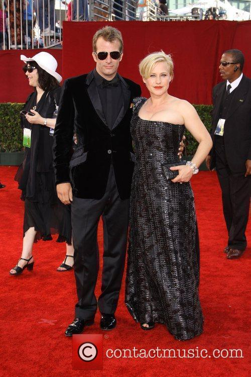 Thomas Jane and Patricia Arquette 61st Primetime Emmy...