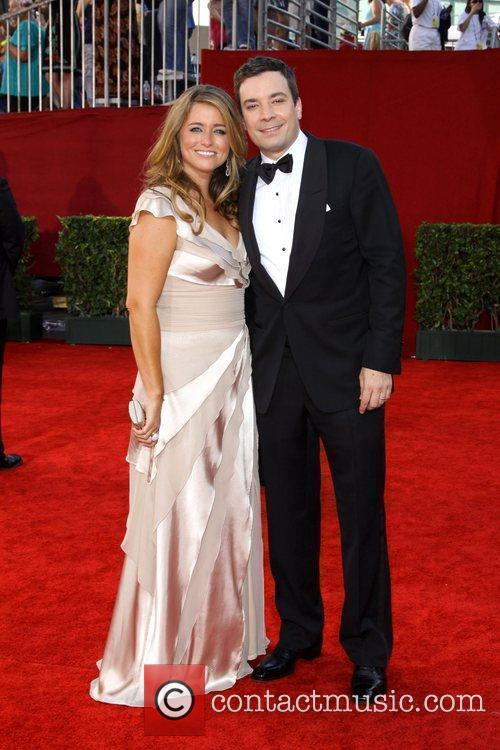 Jimmy Fallon and guest 61st Primetime Emmy Awards...
