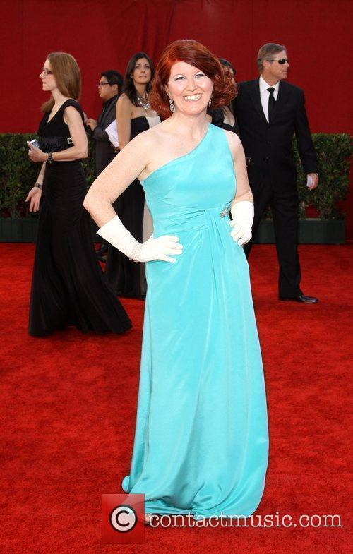 Kate Flannery 61st Primetime Emmy Awards held at...