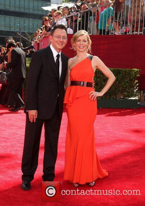 Michael Emerson and Carrie Preston 61st Primetime Emmy...