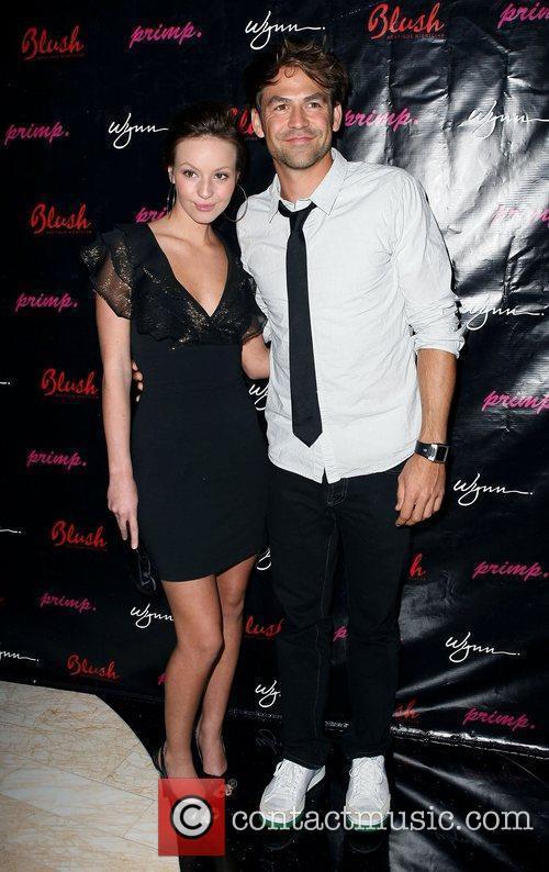 Samantha Droke and Kyle Howard Primp Clothing Party...