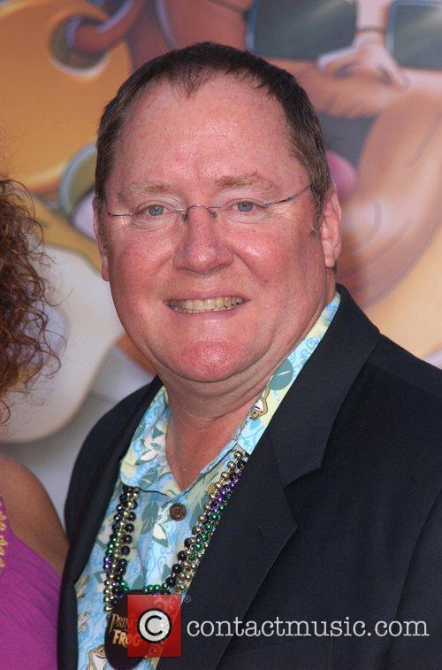 John Lasseter and Walt Disney 1
