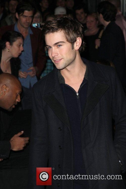 Actor Chace Crawford  The Cinema Society &...