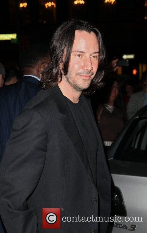 Actor Keanu Reeves The Cinema Society & A...