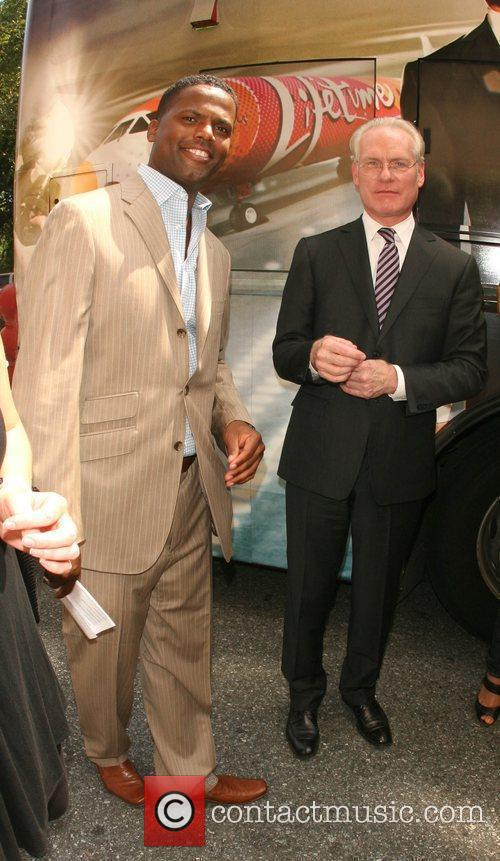 Aj Calloway and Tim Gunn Of 'project Runway' 2