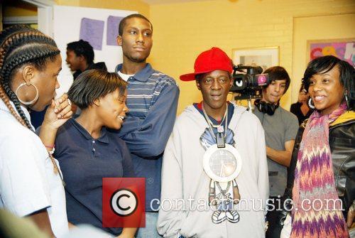 Flava Flav and Youth at the Sasha Bruce...