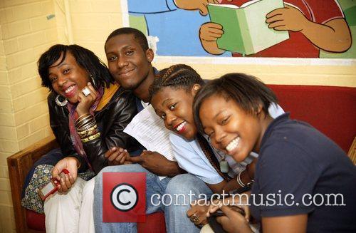 Youth at the Sasha Bruce House Public Enemy...