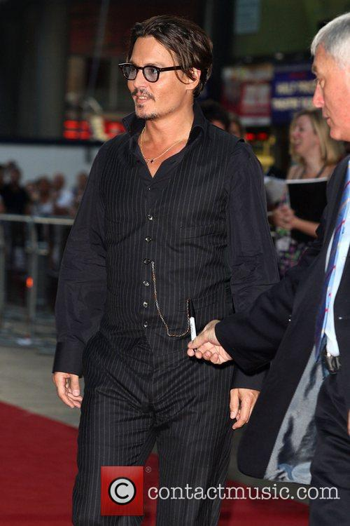Johnny Depp and Empire Leicester Square 1
