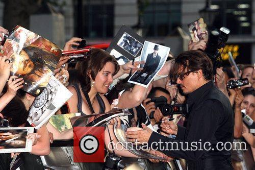 Johnny Depp and Empire Leicester Square 7