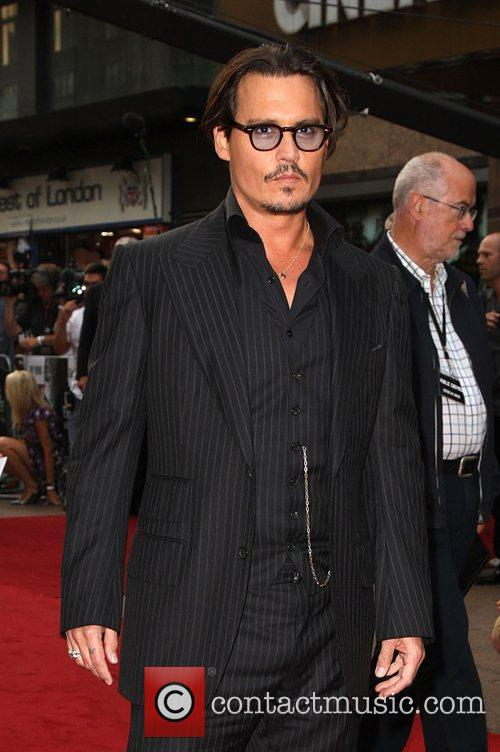 Johnny Depp and Empire Leicester Square 2