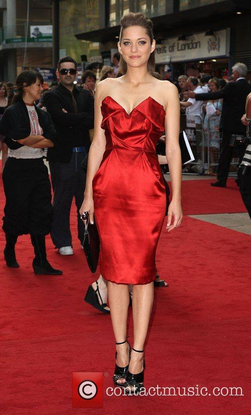 Marion Cotillard and Empire Leicester Square 1