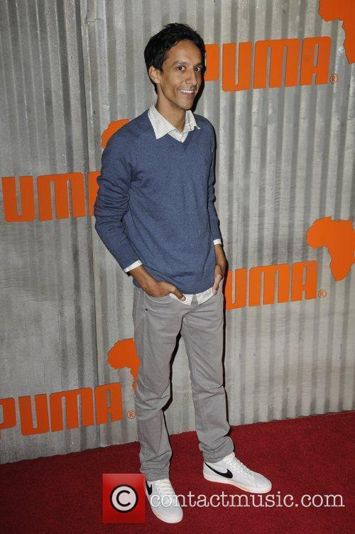 Danny Pudi  Puma presents the African Bazaar...