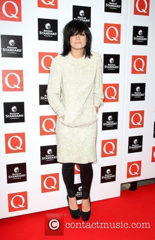 Lily Allen The Q Awards 2009 - arrivals...