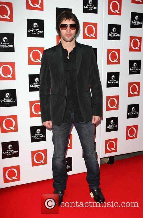 James Blunt The Q Awards 2009 - arrivals...